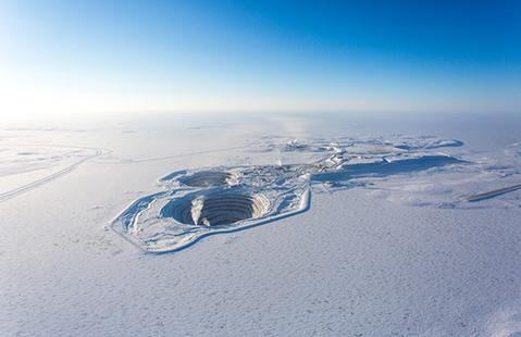 The Diavik Diamond Mine Large
