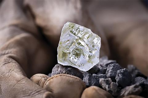 Raw Diamond Large