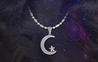 1 Islamic Moon Star