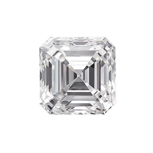 Asscher Diamond Cut Sidestone