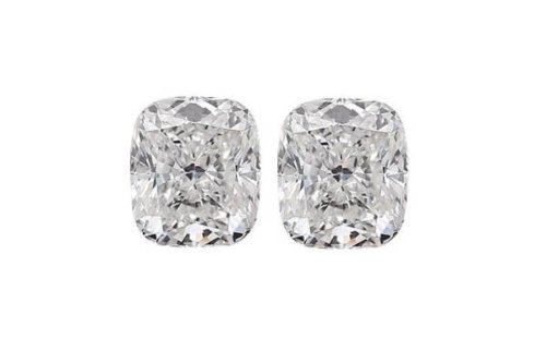 Cushion Cut Diamond Pair