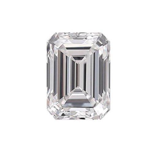 Emerald Diamond Cut Sidestone