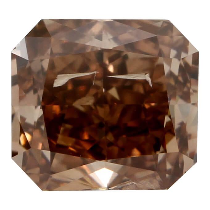 Fancy Brown Orange Radiant