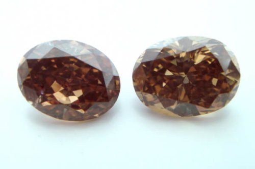 Fancy Dark Orangy Brown Oval Copy
