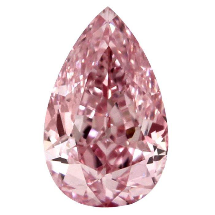 Fancy Intense Pink Pear