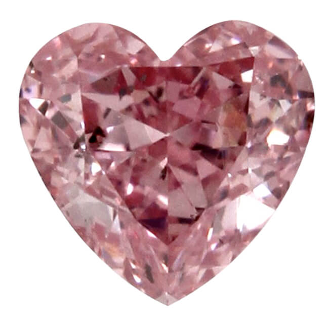 Fancy Intense Purplish Pink Heart 1