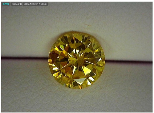 Fancy Orangy Yellow Diamond