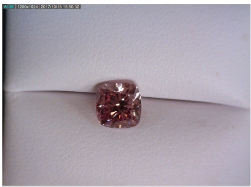 Fancy Pink Cushion Diamond