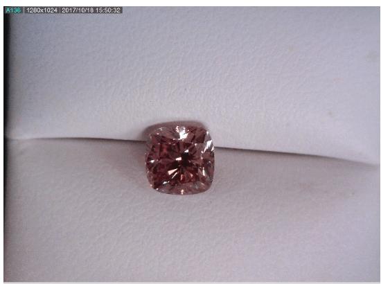 Fancy Pink Cushion Diamond