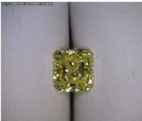 Fancy Yellow Diamond 1