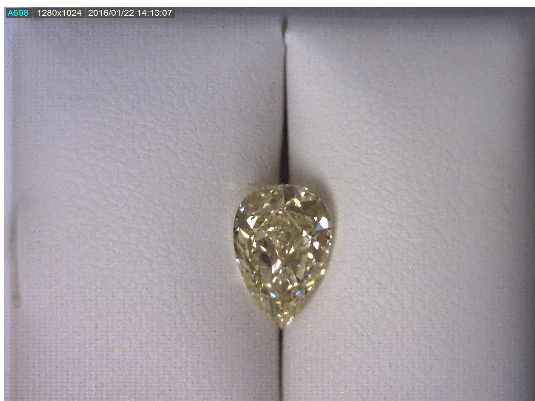 Fancy Yellow Pear Diamond