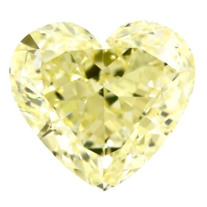 Fancy Yellow Heart