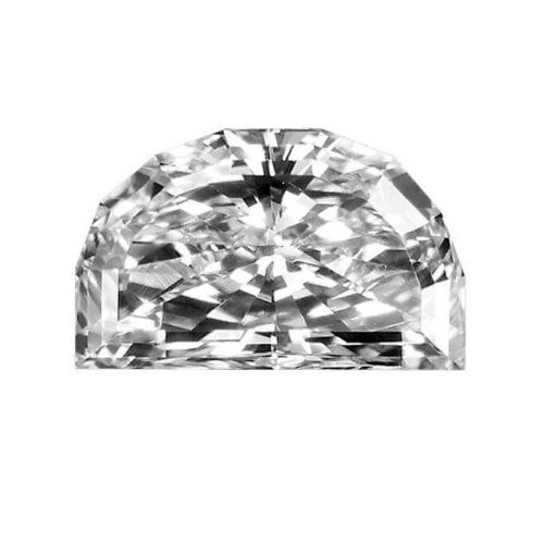 Half Moon Brilliant Cut Diamond