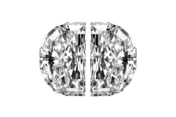 Half Moon Diamond Pair Copy