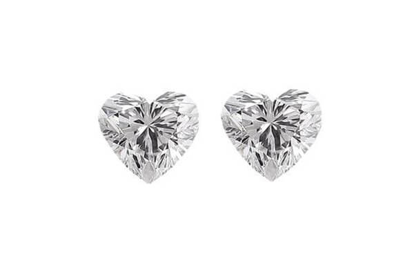 Heart Shaped Diamond Pairs