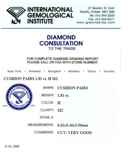 Igi Certificate