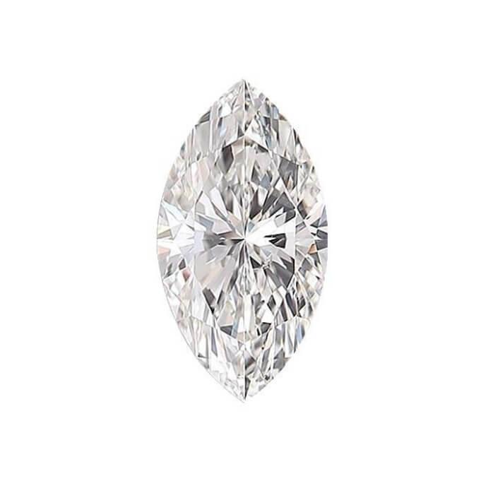 Marquise Cut Diamond Sidestone