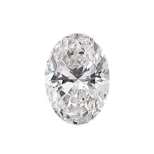 Oval Cut Diamond Sidestone