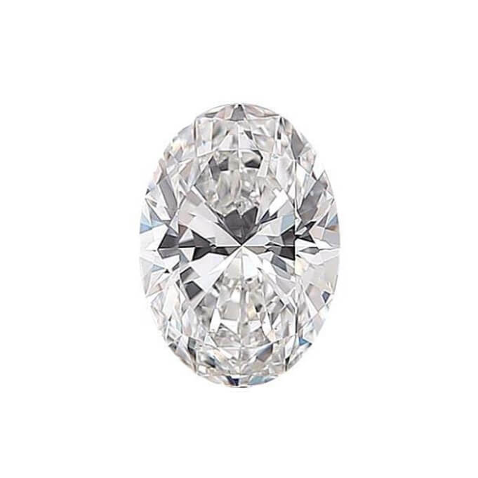 Oval Cut Diamond Sidestone