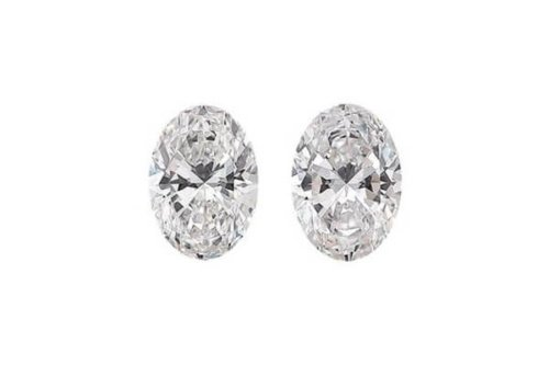 Oval Shape Diamond Pair