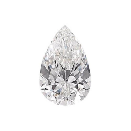 Pear Shaped Diamond Sidestone