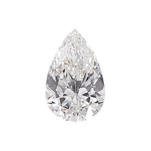 Pear Shaped Diamond Sidestone