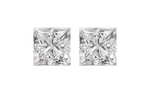 Princess Cut Diamond Pairs