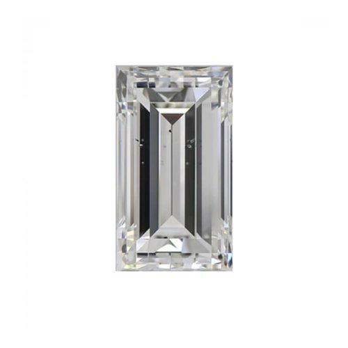 Straight Baguette Cut Diamond2 Sidestone
