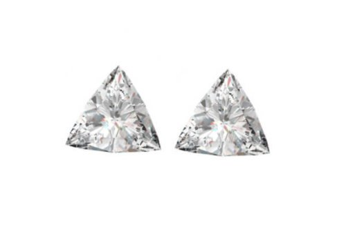 Triangel Cut Diamond Pairs