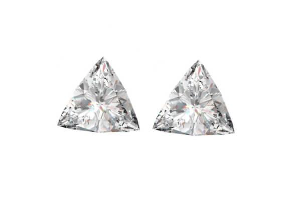 Triangel Cut Diamond Pairs