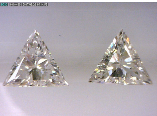 Triangle Cut Diamond Pair
