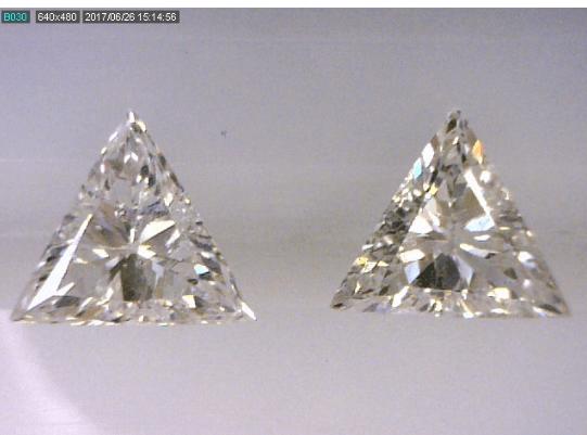 Triangle Cut Diamond Pair