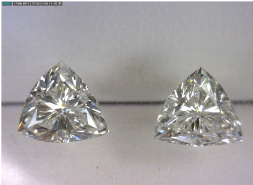 Triangle Cut Diamond Pair2