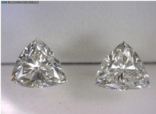 Triangle Cut Diamond Pair2