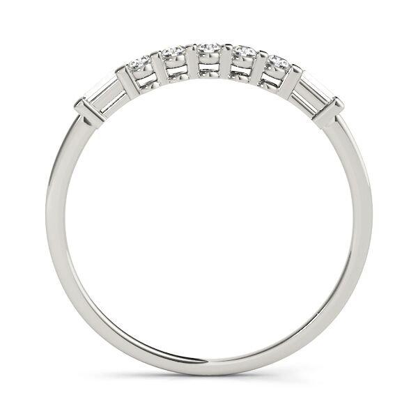 7 Stone Petite Fancy Diamond Wedding Ring