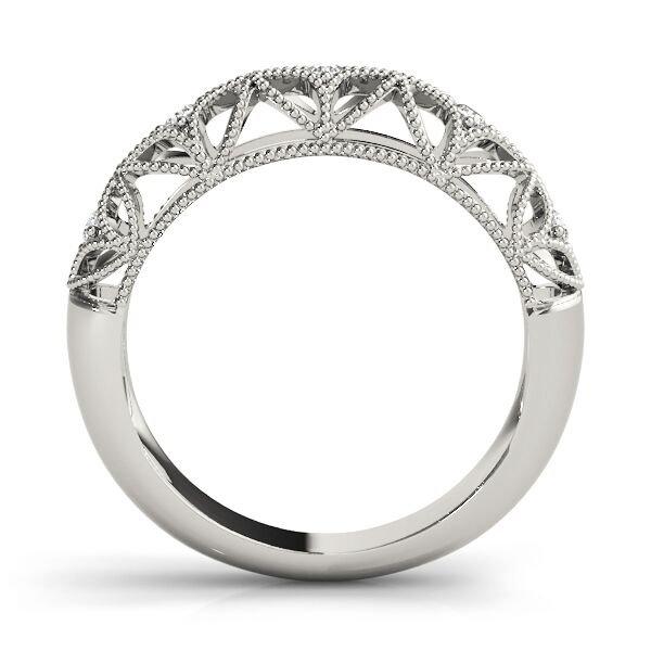 Vintage Style Diamond Wedding Ring