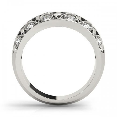 Vintage Style Diamond Wedding Ring