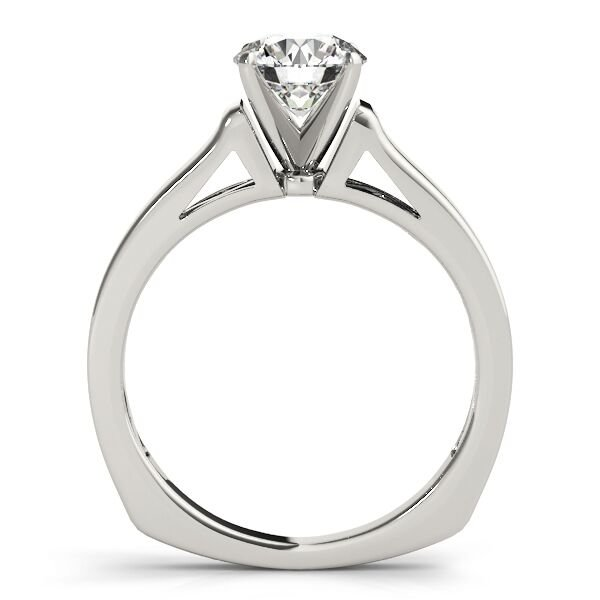 Euro Shank Solitaire Engagement Ring