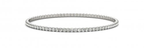 Diamond Eternity Bangle Bracelet