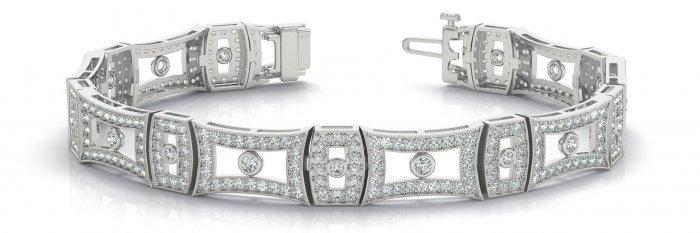 Red Carpet Diamond Bracelet