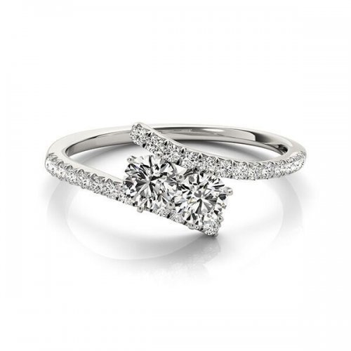 Two Stone Diamond Ring