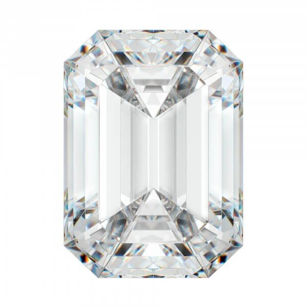 Belgium Emerald Cut Diamond