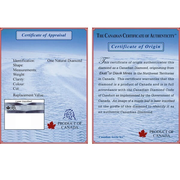 Eskimo Certificate Sample