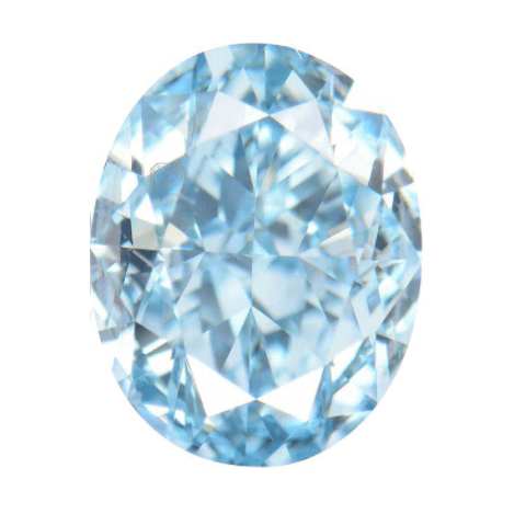 Fancy Blue Diamond 1