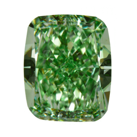 Fancy Vivid Green Diamond 1