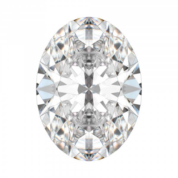 Belgium Eternity Oval Cut Diamond