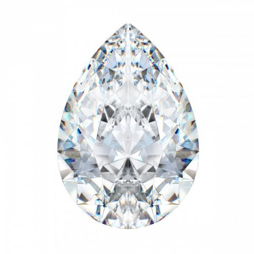 Belgium Pear Shaped Diamond
