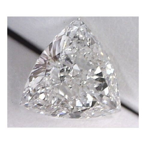 Triangle Cut Diamond Actual