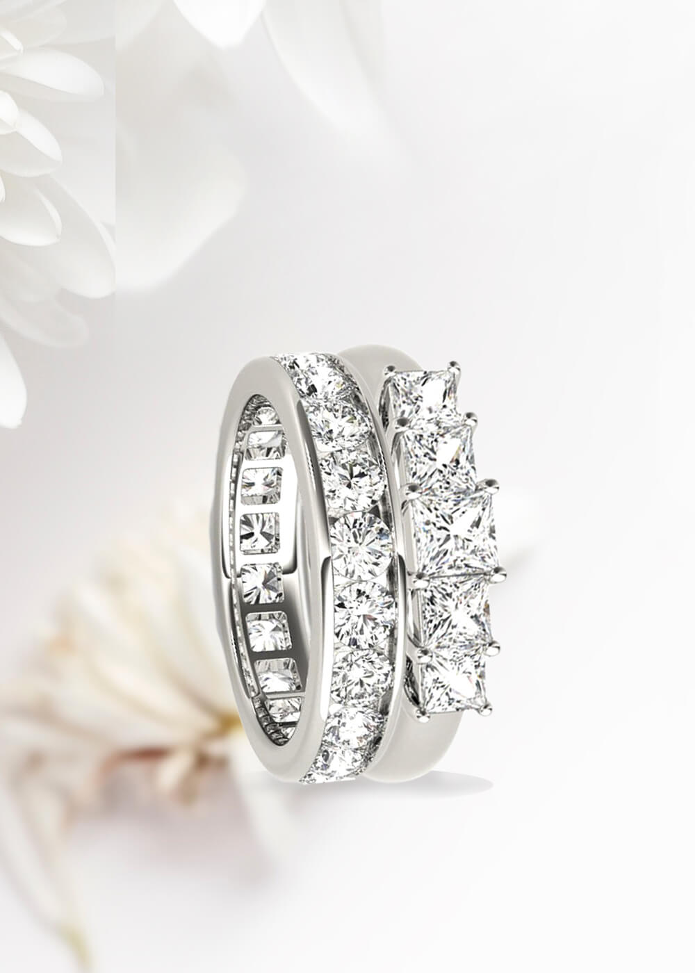 jewellery rings anniversary wedding diamond b and
