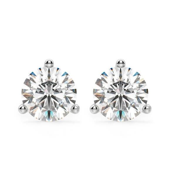 Canadian Certified Diamond Stud Earrings
